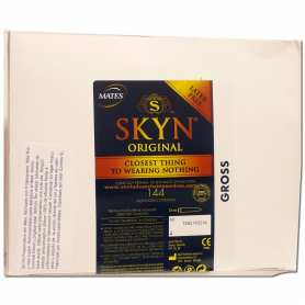 144 Preservativos Skyn 190x53 sin latex