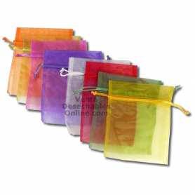 1 Bolsa Organza 13X16,5cm *Color