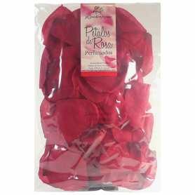 90 Pétalos color rojo perfumados