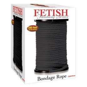 Cuerda negra 60 metros