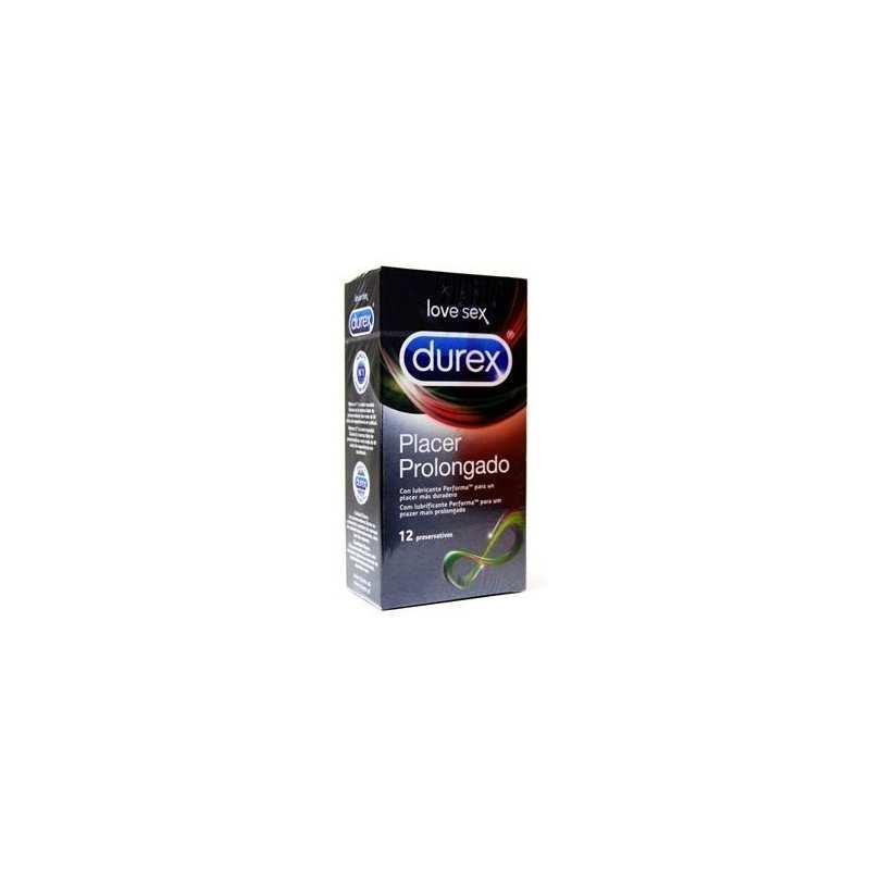12 Preservativos Placer Prolongado