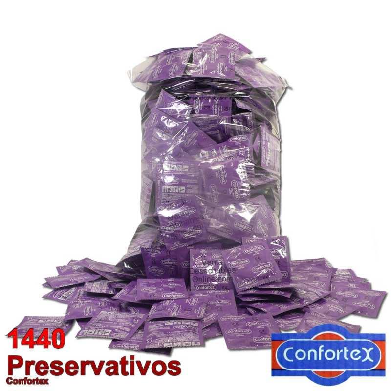 Bolsa 1440 Confortex 192x53 Transparentes