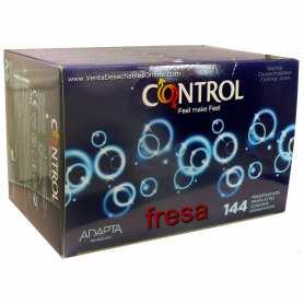 144 Preservativos Control 190x54 Fresa