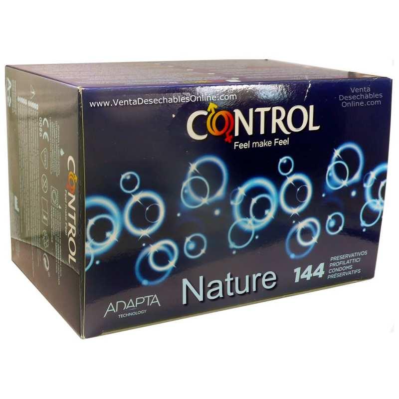 144 Preservativos Control 180x54 Nature