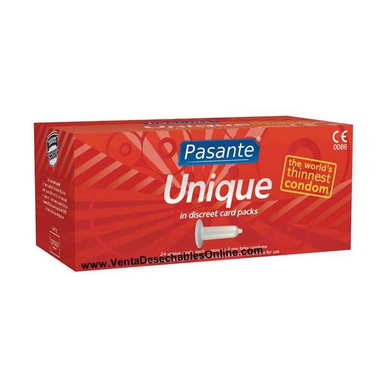 72 Preservativos Pasante 180x60 mm Unique