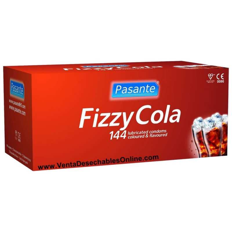144 Preservativos Pasante 190x52 mm Fizzy Cola