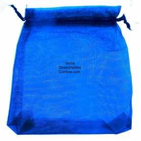 Bolsas Organza Azules 11x16 - 36 Uds