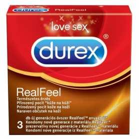 3 Preservativos Durex RealFeel Vending