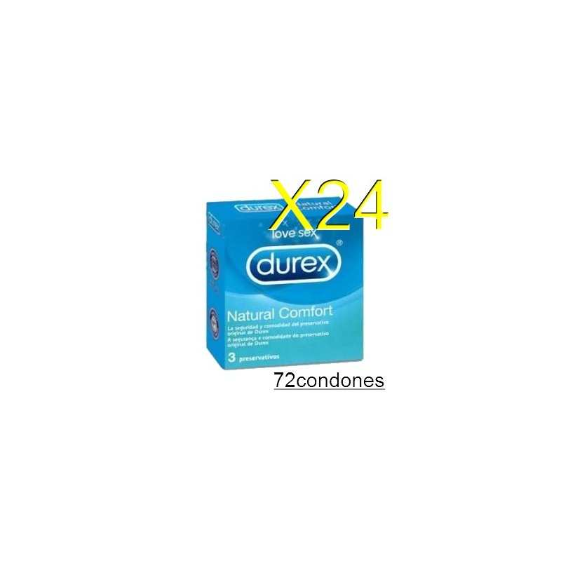 Blister 24 Cajas Durex 190x52 Natural Vending