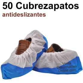50 Cubrezapatos Antideslizantes Bicolor