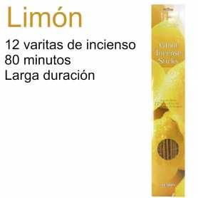 Incienso Gigante Limón 80 Minutos