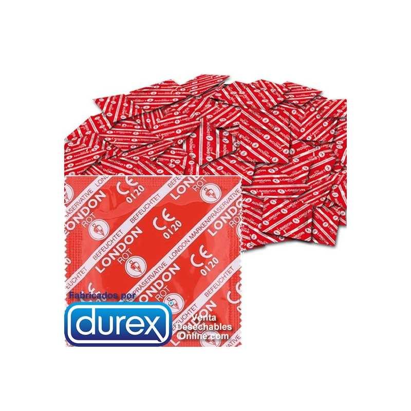 Preservativos Durex London Red
