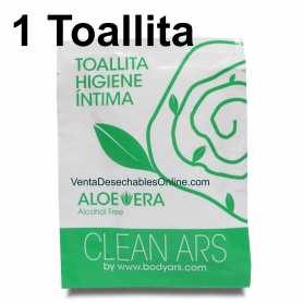 Toallita Higiene íntima Aloe Vera