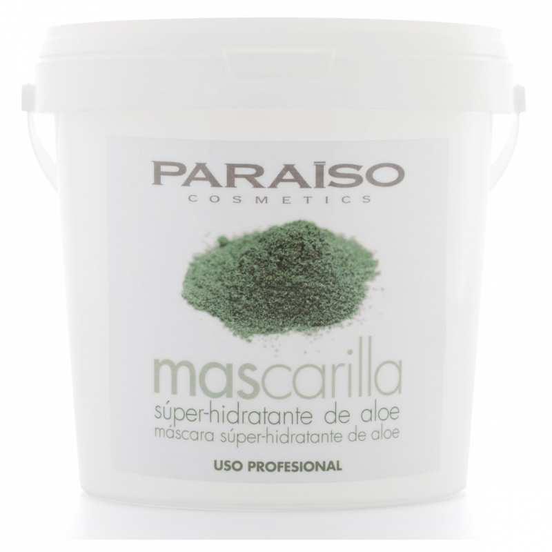 Mascarilla super hidratante Aloe Vera 500g Paraíso Cosmetics