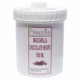 Mascarilla para la Cara De Chocolate Negro 1000g Physioceuticals