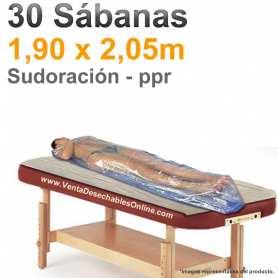 30 Sábanas Sudoración Desechables 1,90x2,05m.