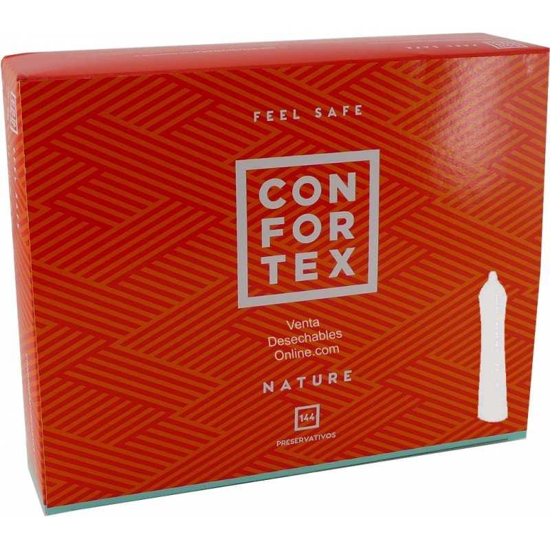 preservativos confortex natural