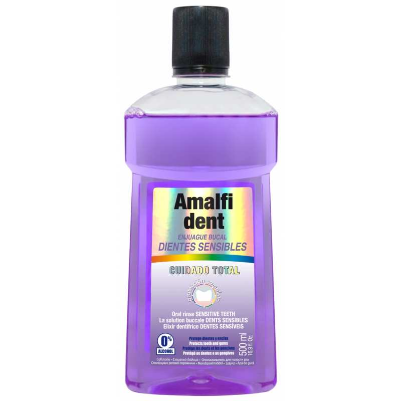Enjuague Bucal Dientes Sensibles 500 ml Amalfi