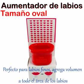 1 Fuller Lips - Aumentador De Labios Mediano Ovalado