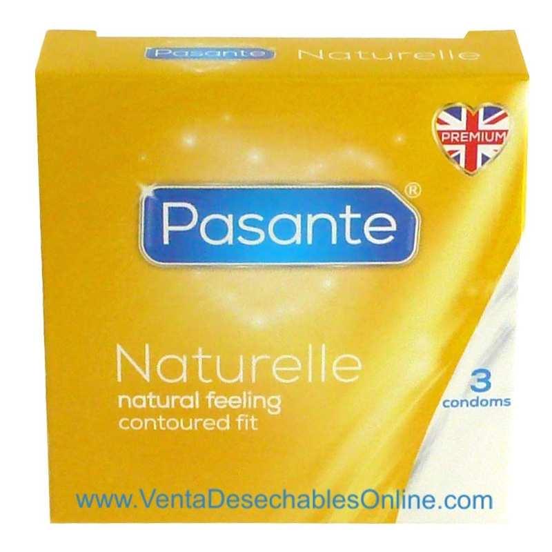 Condones Pasante Naturelle Vending