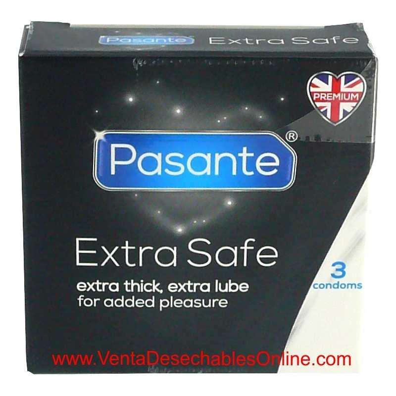 Condones Pasante Extra Seguro