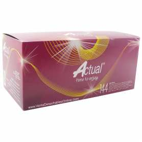 condones actual caja de 144 preservativos naturales
