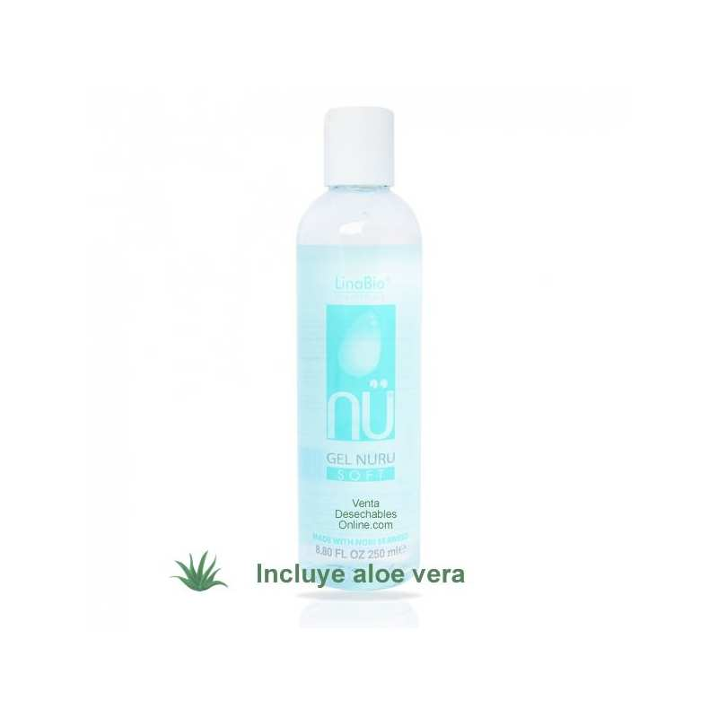 Gel Nuru Nü Nuro Gel Soft 250ml - Linabio