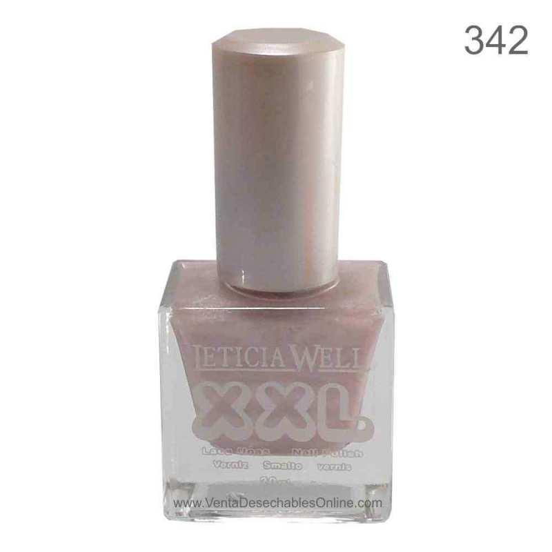 Laca De Uñas XXL 342 - Tono Rosa - Leticia Well
