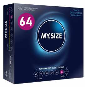 36 Condones My Size 223x64 mm