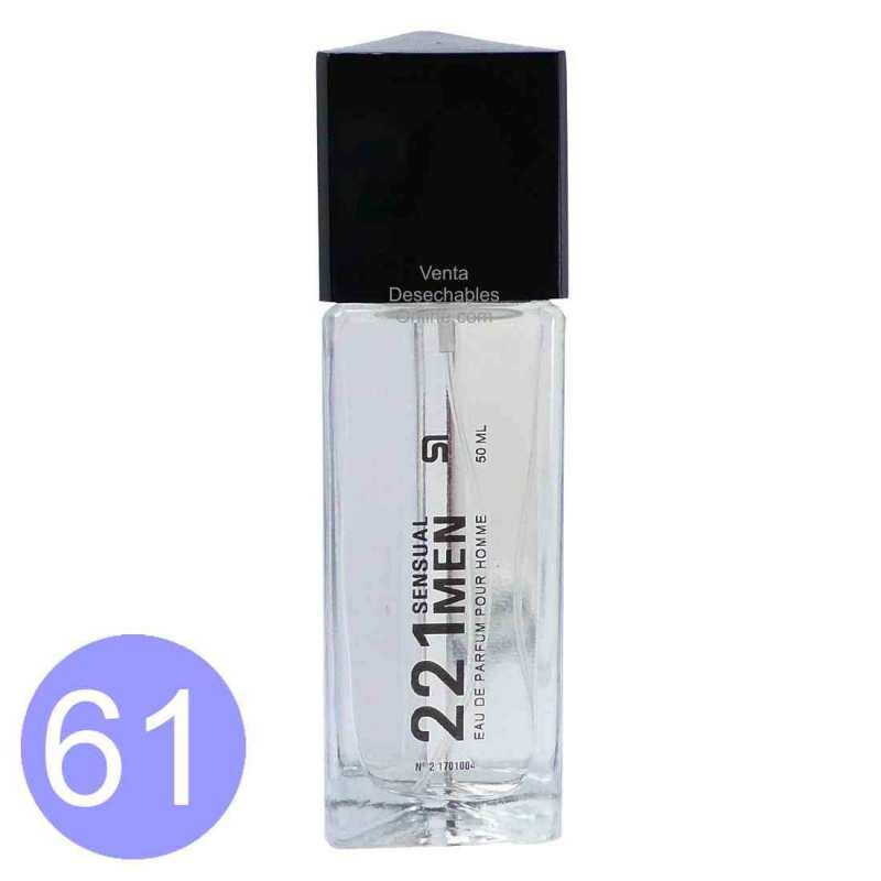 221 Sensual Men Agua de Perfume Hombre 50 ML/61