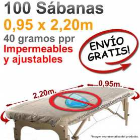 Sábanas Camilla Ajustables plastificadas impermeables