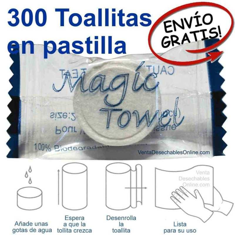 Toallitas Comprimidas En Pastilla
