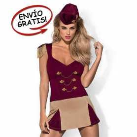 Disfraz Bailarina Majorette Obsessive. Talla L/XL