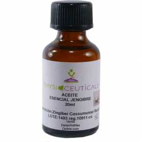 Aceite Esencial Jengibre Physioceuticals 20ml