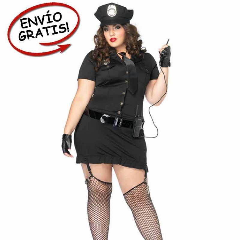 Disfraz Policia Leg Avenue. Talla Grande 1X/2X