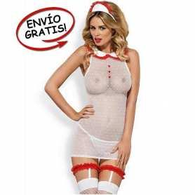 Disfraz Enfermera Mujer Obsessive. Talla S/M