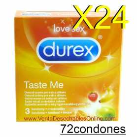 cajas de Preservativos Durex para máquinas expendedoras
