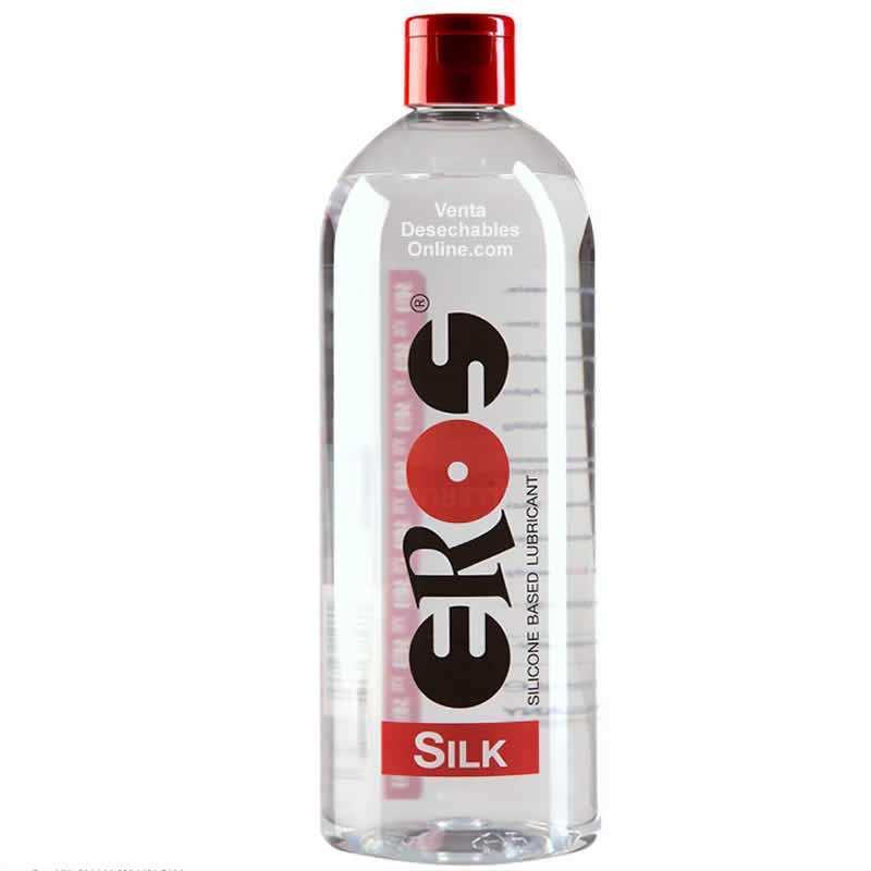 Lubricante Eros Silk Silicona Medico 500ml
