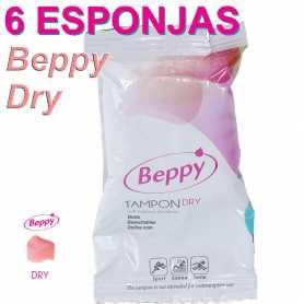 6 esponjas vaginales Beppy Dry Classic