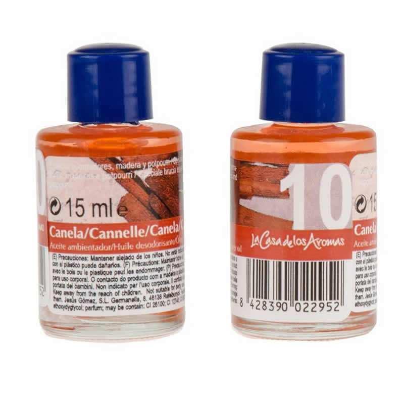 Aceite Ambientador Canela La Casa De Los Aromas - 15ml