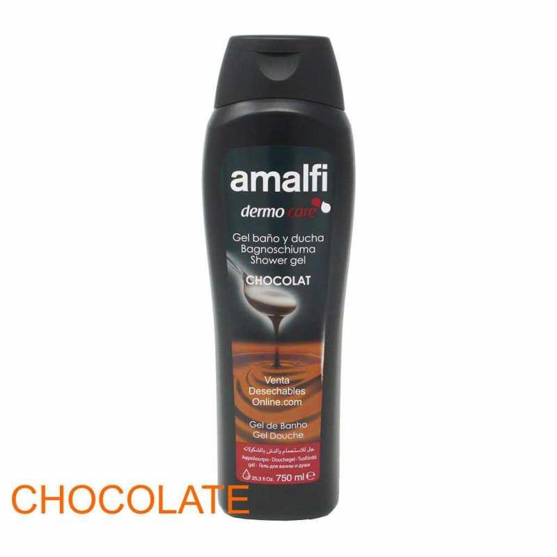 Gel Baño y Ducha Chocolate Amalfi 750ml