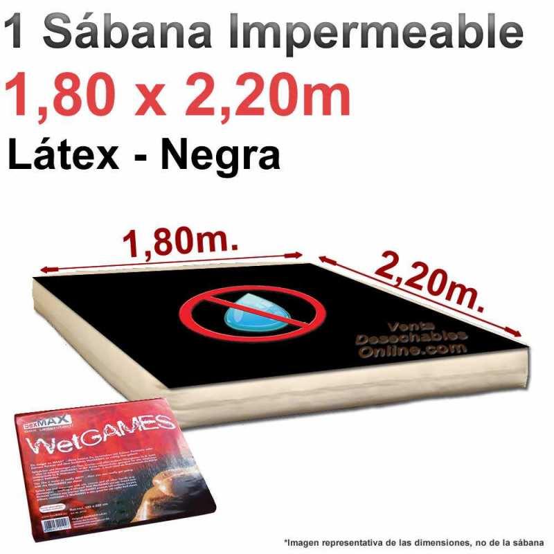 sábana sexmax fabricada en látex lavable