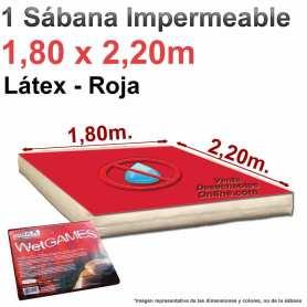 Sábana Impermeable Sexmax Roja