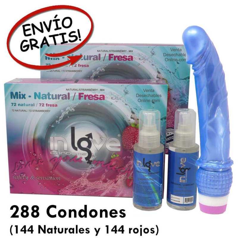 Super Oferta de Condones mezclados