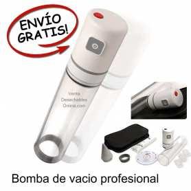 Bomba Erección Androvacuum Premium 20x6 cm Blanca - Andromedical