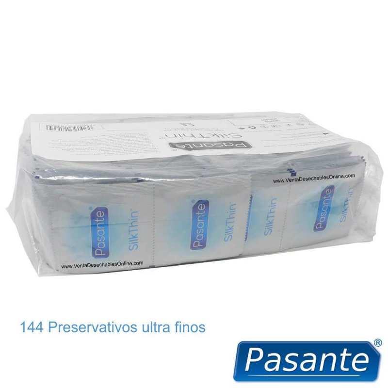 144 Preservativos Pasante Ultra Fino 190x53 mm