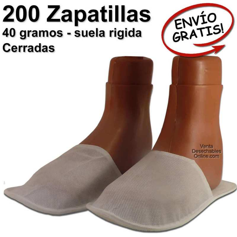 Zapatillas desechables para spa