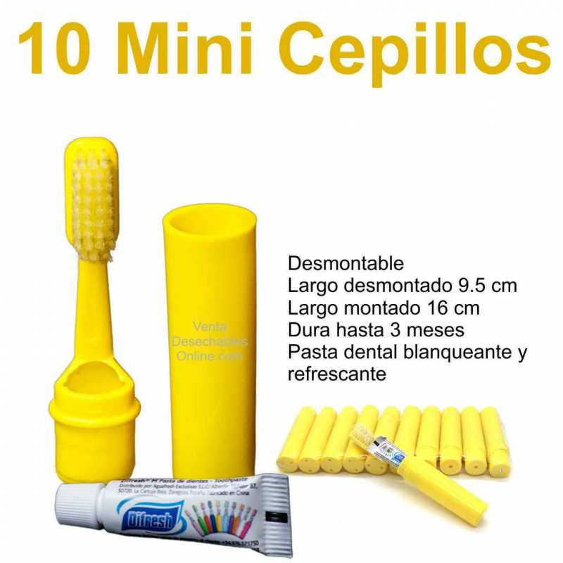 Mini cepillos de dientes