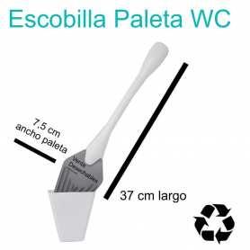 Escobilla Paleta Baño WC Desechable - Gris