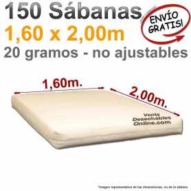Sábanas desechables colchón grande